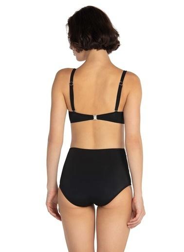 Dagi Balenli Luplu Bikini Takım Siyah